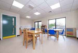 Bright Futures School - dining room